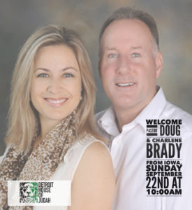 Welcome Pastor Doug and Charlene Brady from Iowa